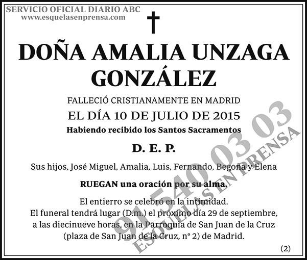 Amalia Unzaga González